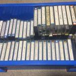 押し入れから出てきた、懐かしのカセットテープ